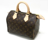 Louis Vuitton 激安 ルイヴィトン 新品 モノグラム バッグ スピーディ25 M41528
