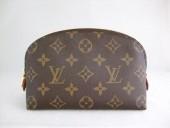 Louis Vuitton 激安 ルイヴィトン 新品 モノグラム 半月コスメポーチ ポシェットコスメティック M47515