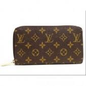 Louis Vuitton 激安 ルイヴィトン 新品 モノグラム 長財布 ジッピーウォレット M60017