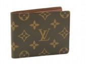 ルイヴィトン 新作 人気 新品 通販&送料込 モノグラム 二つ折財布(札入) 濃茶 M60930
