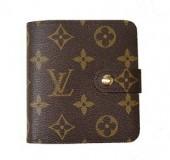 Louis Vuitton 激安 ルイヴィトン 新品 モノグラム 財布 コンパクトジップ M61667