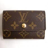Louis Vuitton 激安 ルイヴィトン 新品 モノグラム 四角型コインケース ポルトモネ・プラ M61930