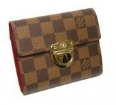 Louis Vuitton 激安 ルイヴィトン 新品 ダミエ 財布 ポルトフォイユ・コアラ N60005
