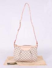 2011年春夏新作 Louis Vuitton 激安 ルイヴィトン 新品 ダミエ・アズール ショルダーバッグ シラクーサPM N41113