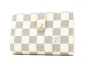 Louis Vuitton 激安 ルイヴィトン 新品 ダミエ・アズール 財布 がま口 ポルトフォイユ・ヴィエノワ N61676