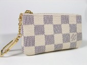 Louis Vuitton 激安 ルイヴィトン 新品 ダミエ・アズール キーコインケース ポシェット・クレ N62659
