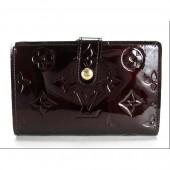 Louis Vuitton 激安 ルイヴィトン 新品 ヴェルニ 財布 がま口 ポルトフォイユ・ヴィエノワ アマラント M93521