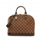 【2010年秋冬新作】 Louis Vuitton 激安 ルイヴィトン 新品 ダミエ アルマ ハンドバッグ ダークブラウン N53151