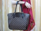 2010年新作 Louis Vuitton 激安 ルイヴィトン 新品 ダミエ ヴェローナGM ショルダーバッグ ダークブラウン N41119