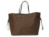 Louis Vuitton 激安  ルイヴィトン 新品 ダミエ バッグ ネヴァーフルGM エベヌ N51106
