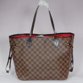 Louis Vuitton 激安  ルイヴィトン 新品 ダミエ バッグ ネヴァーフルMM エベヌ N51105