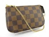 Louis Vuitton 激安 ルイヴィトン 新品 ダミエ ミニポシェット・アクセソワール N58009
