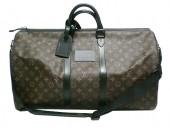 Louis Vuitton 激安 ルイヴィトン 新品 モノグラム バッグ ウォータープルーフ・キーポル55 ストラップ付き M41411