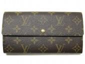 2011年春夏新作 Louis Vuitton 激安 ルイヴィトン 新品 モノグラム 長財布 ポルトフォイユ・サラ レオパード ブロンコライユ M60105