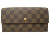 Louis Vuitton 激安 ルイヴィトン 新品 ダミエ 財布 三つ折長札 ポルトフォイユ・インターナショナル N61217