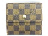 Louis Vuitton 激安 ルイヴィトン 新品 ダミエ 財布 Wホック ポルトフォイユ・エリーズ N61654