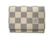 Louis Vuitton 激安 ルイヴィトン 新品 ダミエ・アズール カードケース 名刺入れ アンヴェロップ・カルトドゥヴィジット N61746