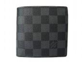 Louis Vuitton 激安 ルイヴィトン 新品 ダミエ・グラフィット 財布 メンズ 小銭付き ポルト ビエ・カルト クレディ モネ N62664