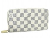 Louis Vuitton 激安 ルイヴィトン 新品 ダミエ・アズール 長財布 ジッピーウォレット N60019