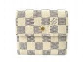 Louis Vuitton 激安 ルイヴィトン 新品 ダミエ・アズール 財布 Wホック ポルトフォイユ・エリーズ N61733