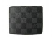 Louis Vuitton 激安 ルイヴィトン 新品 ダミエ・グラフィット 財布 メンズ ミュルティプル N62663