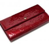 Louis Vuitton 激安 ルイヴィトン 新品 ヴェルニ 財布 ファスナー付き長札 ポルトフォイユ・サラ ポムダムール M93530