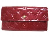 Louis Vuitton 激安 ルイヴィトン 新品 ヴェルニ 財布 三つ折り長札 ポルトフォイユ・インターナショナル NM ポムダムール M93531
