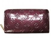 2011年春夏新作 Louis Vuitton 激安 ルイヴィトン 新品 財布 ヴェルニ ジッピーウォレット ルージュフォーヴィスト M91536