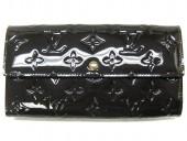 2011年春夏新作 Louis Vuitton 激安 ルイヴィトン 新品 ヴェルニ 財布 ファスナー付き長札 ポルトフォイユ・サラ テールドンブル M91465