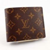 Louis Vuitton 激安 ルイヴィトン 財布 新作 人気 新品 通販&送料込 モノグラム 二つ折財布 札入れ M60870