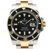 ロレックス 腕時計 新入荷&送料込 サブマリーナコンビ 116613  自動巻