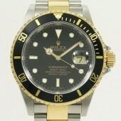 ロレックス 腕時計 新入荷&送料込  サブマリーナコンビ 16613 自動巻