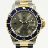 ロレックス 腕時計 新入荷&送料込 サブマリーナコンビ 16613SG 自動巻