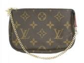 Louis Vuitton 激安 ルイヴィトン 新品 モノグラム ポーチ ミニ・ポシェット・アクセソワール M58009