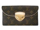 Louis Vuitton 激安 ルイヴィトン 新品 モノグラム 財布 ポルトフォイユ・ウジェニ M60123