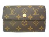Louis Vuitton 激安 ルイヴィトン 新品 モノグラム 財布 ポルトフォイユ・アレクサンドラ M60047