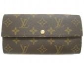 Louis Vuitton 激安 ルイヴィトン 新品 モノグラム 財布 ファスナー長札 ポルトフォイユ・サラ M61734