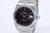 ロレックス 腕時計 新入荷&送料込 デイトジャスト メンズ 16200 黒文字盤