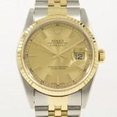 ロレックス 腕時計 新入荷&送料込 デイトジャストコンビ  16233 自動巻