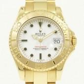 ロレックス 腕時計 新入荷&送料込 ヨットマスターYG 168628 自動巻
