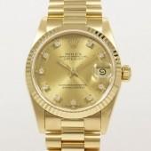 ロレックス 腕時計 新入荷&送料込 デイトジャストYG 68278G 自動巻
