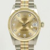 ロレックス 腕時計 新入荷&送料込 デイトジャストコンビ 68279G(BIC)  自動巻
