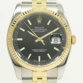 ロレックス 腕時計 新入荷&送料込  デイトジャストコンビ 116233 自動巻