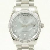 ロレックス 腕時計 新入荷&送料込 デイデイトPT 118346A 自動巻