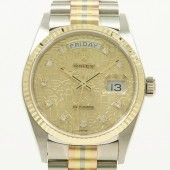 ロレックス 腕時計 新入荷&送料込 デイデイト 18039G<BIC>   自動巻