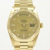 ロレックス 腕時計 新入荷&送料込 デイデイトYG 18238A 自動巻