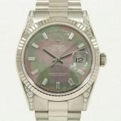 ロレックス 腕時計 新入荷&送料込 デイデイトWG 118339NB 自動巻