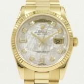 ロレックス 腕時計 新入荷&送料込 デイデイトYG 118238Met.A   自動巻