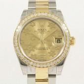 ロレックス 腕時計 新入荷&送料込 デイトジャストコンビ 178383・3 自動巻