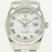 ロレックス 腕時計 新入荷&送料込  デイデイトPT 118206(8) 自動巻